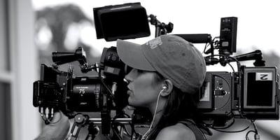 Camera Crew Girl