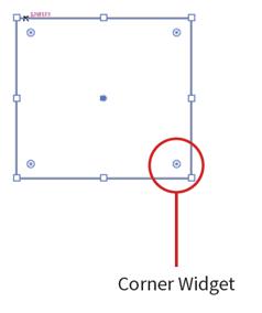 Corner Widget
