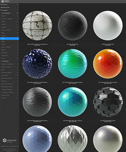 3D Materials Substance by Adobe
